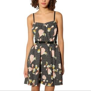 Kimchi Blue Urban Outfitters Floral Mini Dress
